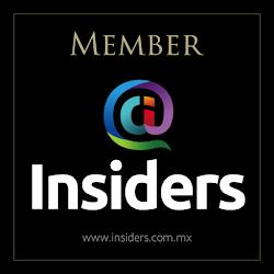 """CONDUCCIÓN Programas de Tv y podcast """"INSIDERS"""""""