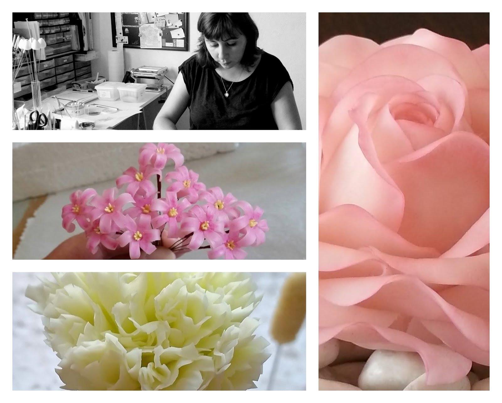 Cécile Goffinet - Fleurs modelées