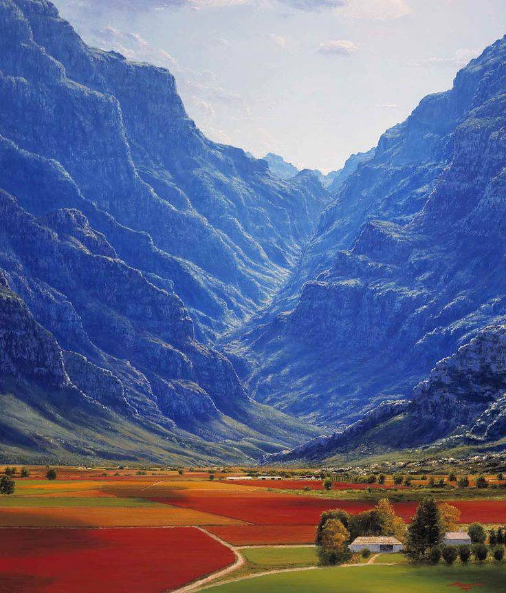 The amazing world hex river valley western cape south for Landscape sa