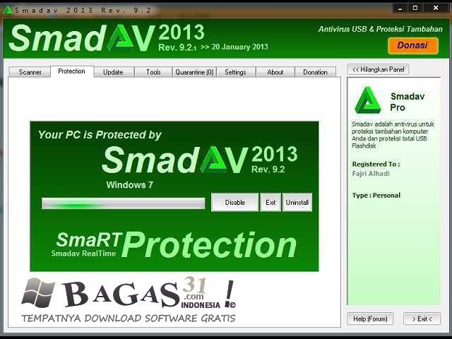 SmadAV 2013 Rev. 9.2.1 Pro Full Keygen