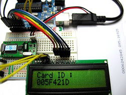 RDM6300 125Khz RFID Reader demonstrated with Arduino UNO