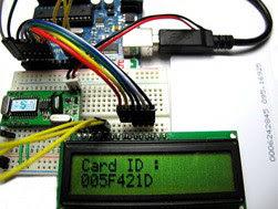 Membaca RFID 125Khz dengan RDM 6300 +arduino uno ke serial monitor