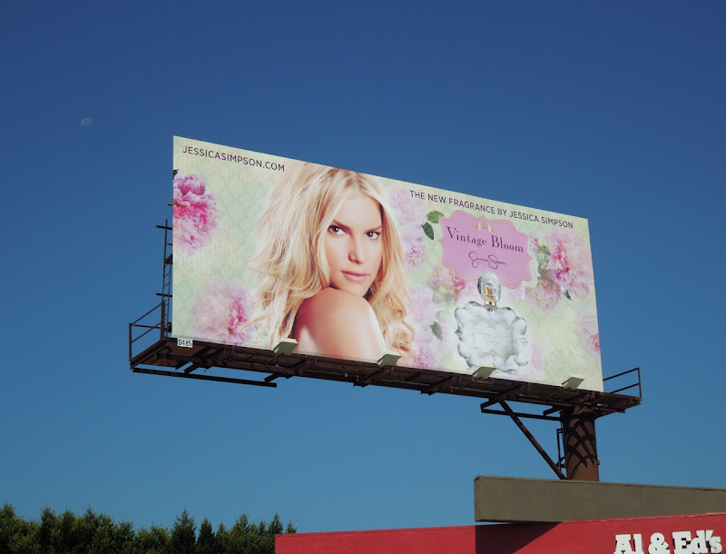 Jessica Simpson Vintage Bloom billboard