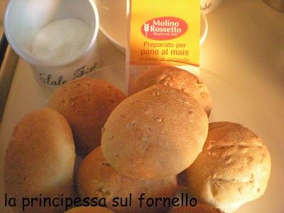 Pane al mais e semi di girasole, con scorciatoia!