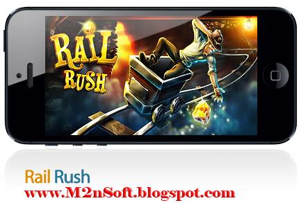 rail rush mobile game