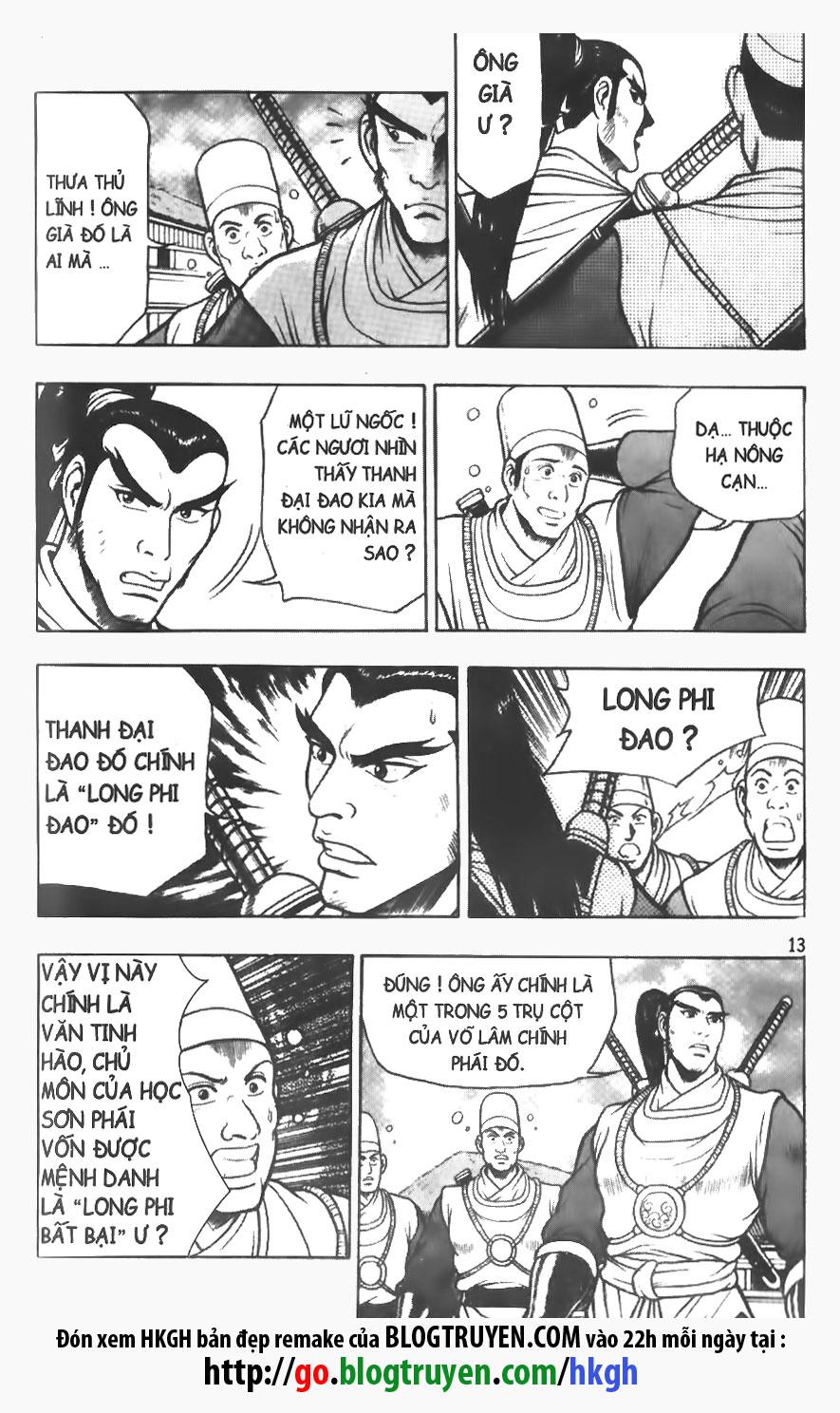 Hiệp Khách Giang Hồ chap 76 page 13 - IZTruyenTranh.com