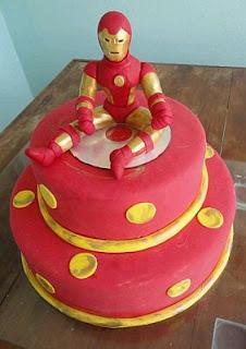 Tortas Iron Man, parte 2