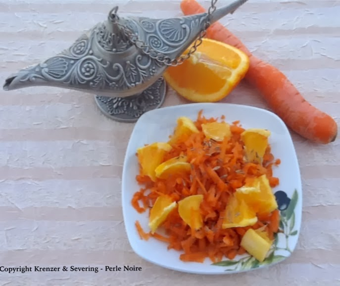 Karotten-Orangen-Salat