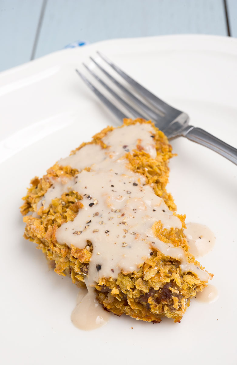... Spice by Celeste: Chicken-Fried Steak with Cream Gravy - Lightened Up