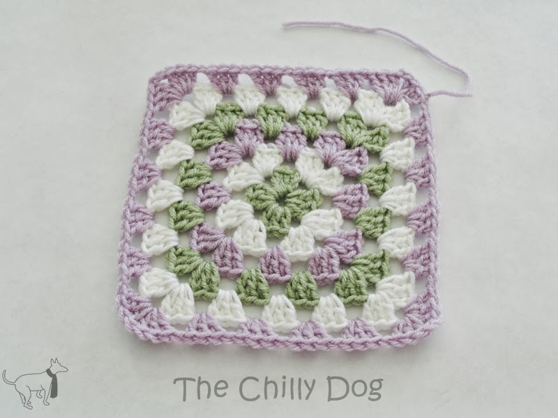 Square Crochet Motifs Pattern The Granny Square The Chilly Dog