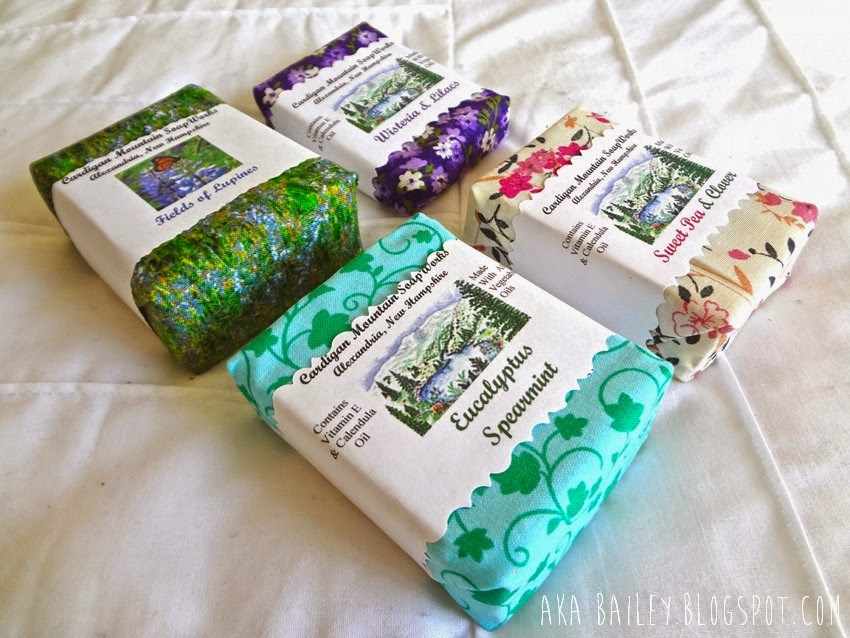 Soaps from Cardigan Mountain Soapworks