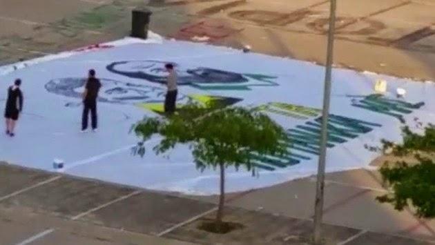 Κινητοποιήθηκε ο εισαγγελέας για το πανό των Ολυμπιακών (ΒΙΝΤΕΟ)