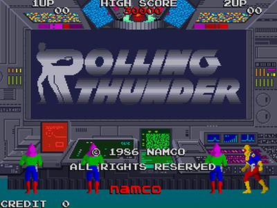 Rolling Thunder PSP