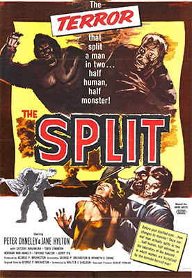 Poster - The Manster (aka The Split), 1959