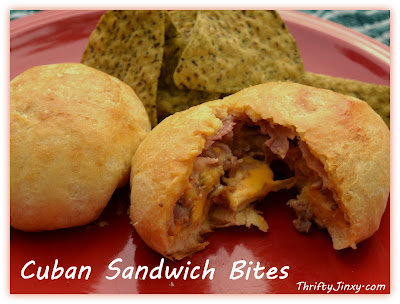 Cuban Sandwich Bites Velveeta