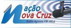 """AGRESTE FM - 107.5 - PROGRAMA """"NAÇÃO NOVA CRUZ"""" O RETORNO"""""""