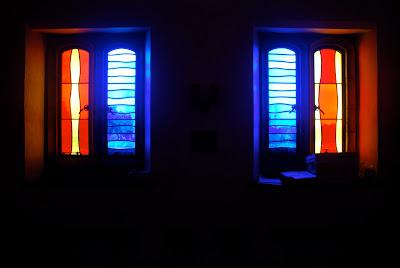 Trinity College Choir Rehearsal Room window design by Szal Design