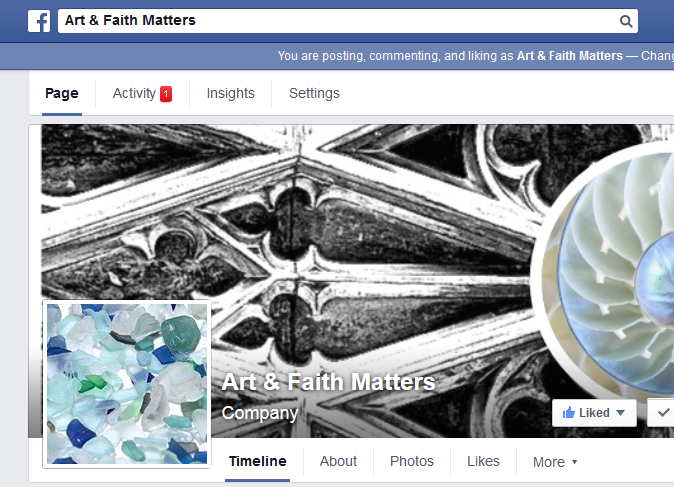We're on Facebook: