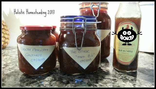 Mrs. Bs Chutney homemade