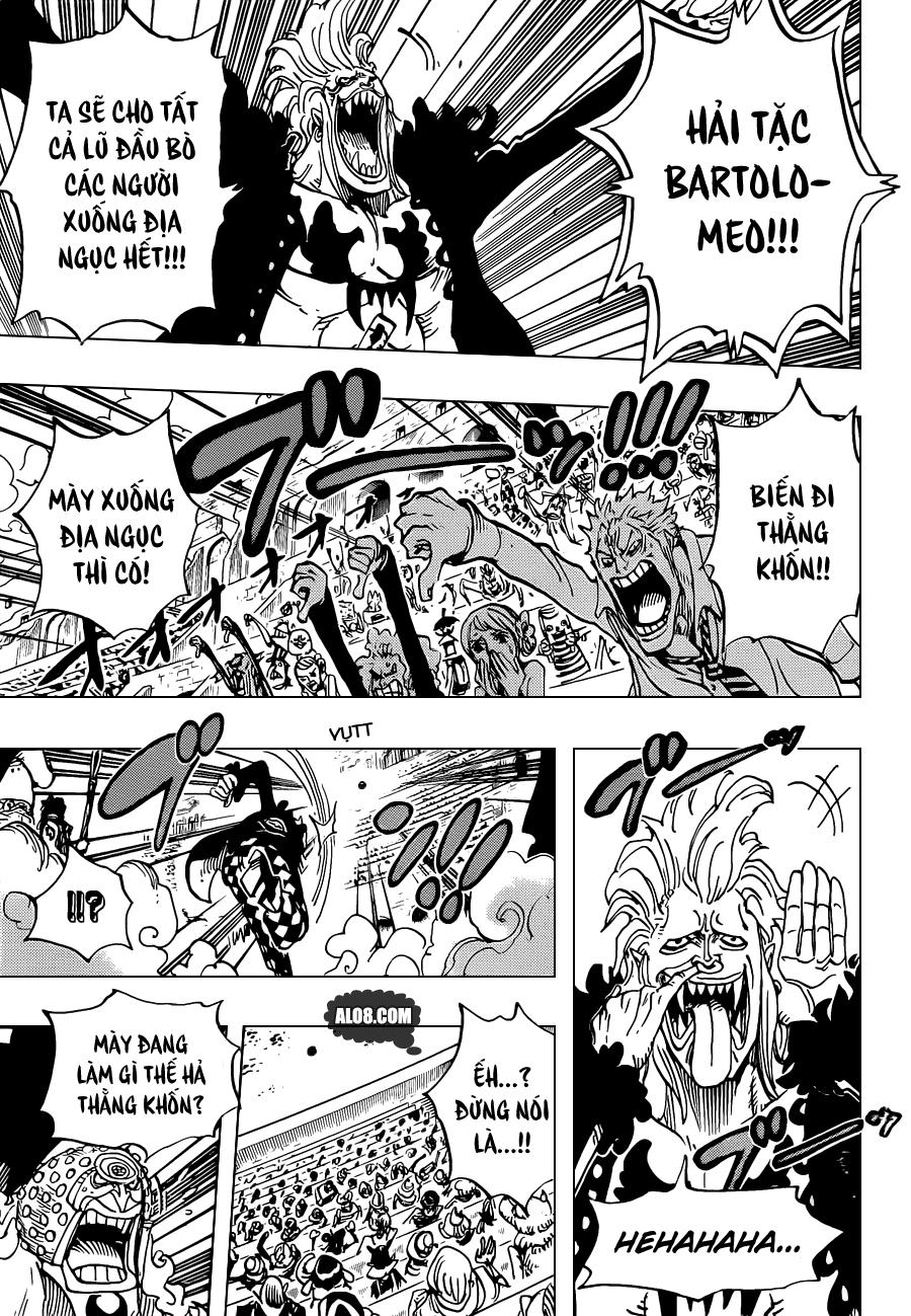 One Piece Chapter 706: Ta sẽ không cười ngươi nữa đâu 003