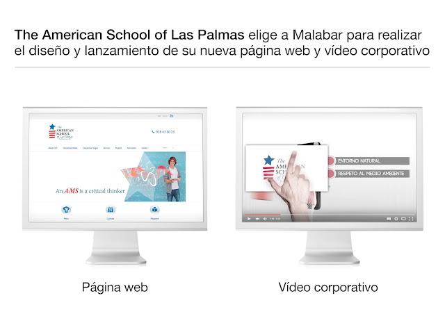 The American School of Las Palmas, ya tiene nueva WEB, funcional, cómoda, y bien estructurada para facilitar un buen posicionamiento SEO en los buscadores.
