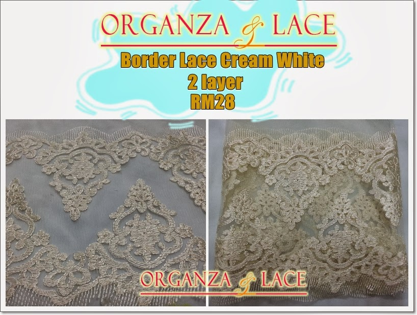 layer Border Lace Murah!!!!
