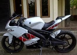 modifikasi yamaha new vixion full fairing