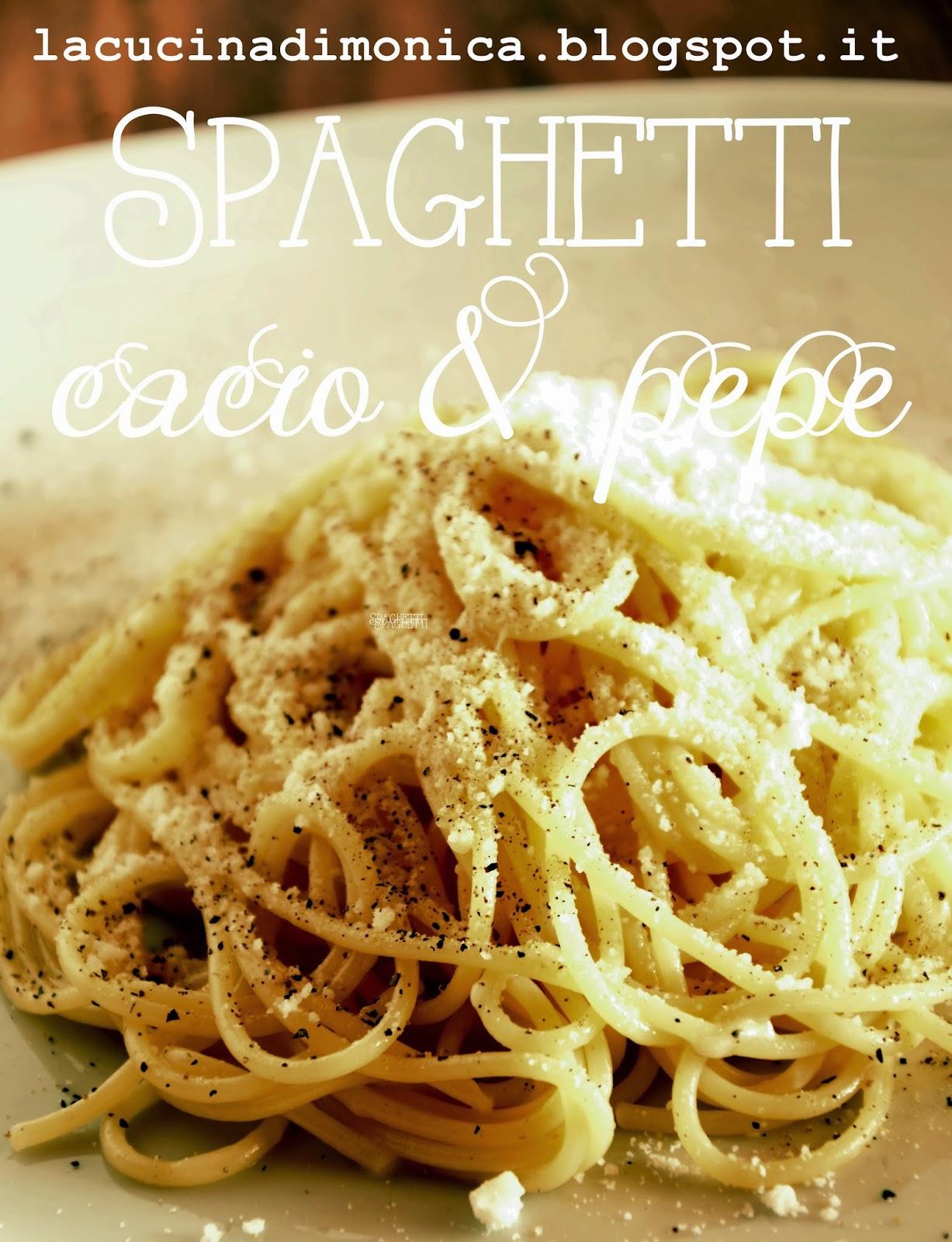 spaghetti cacio & pepe