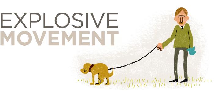 explosive movement