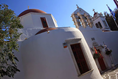 Orthodox Cathedral in Mykonos