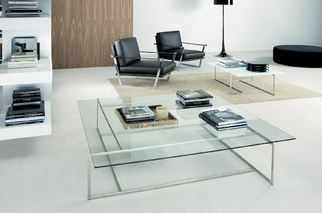 inspiring contemporary glass coffee tables with square cute legs