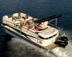 Fly fishing trips used pontoon boats for sale for Used fishing pontoon boats for sale