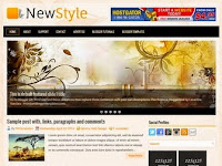 NewStyle - Premium Blogger Templates  Free Download