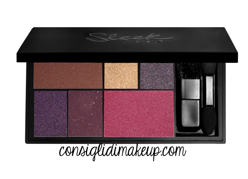 sleek makeup palette eye & cheek