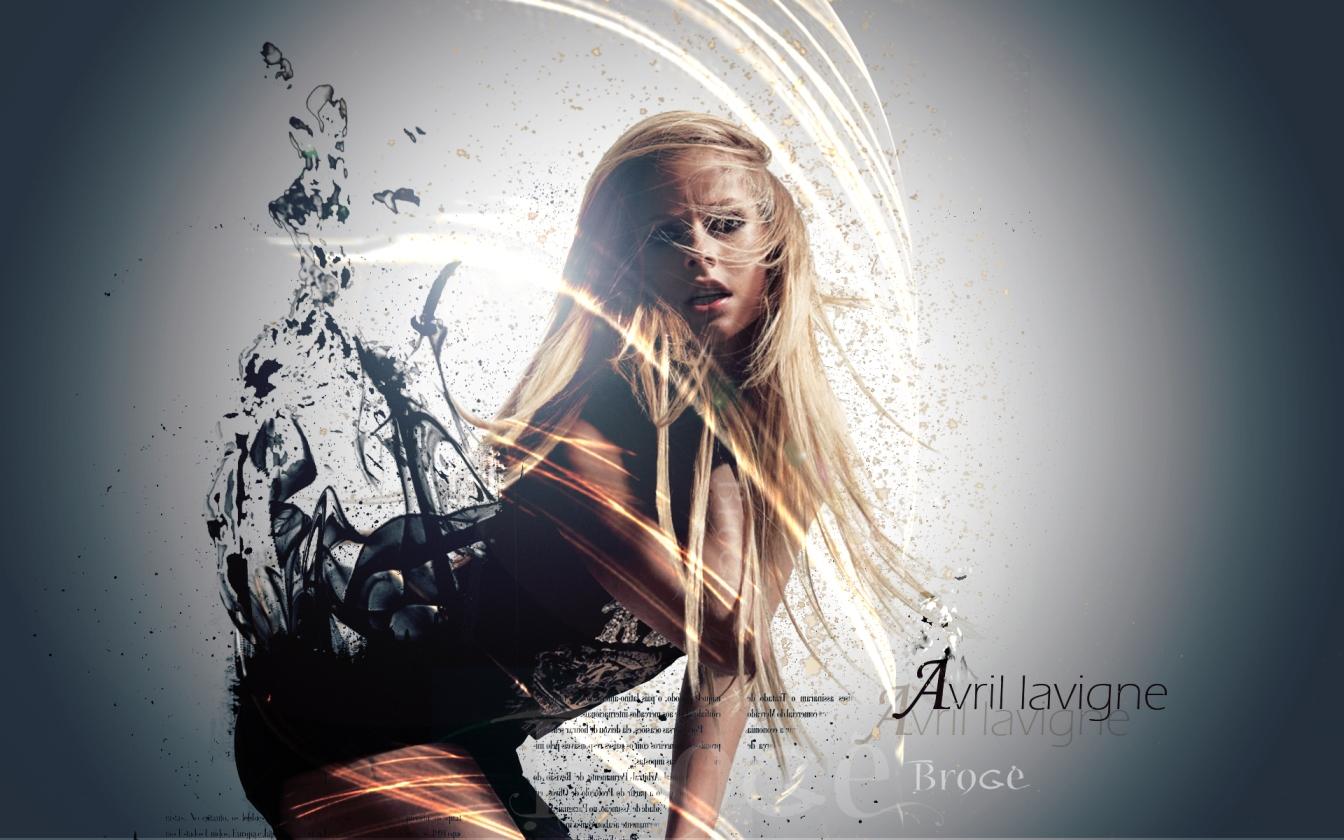Avril Lavigne Widescreen HQ Wallpaper 211448