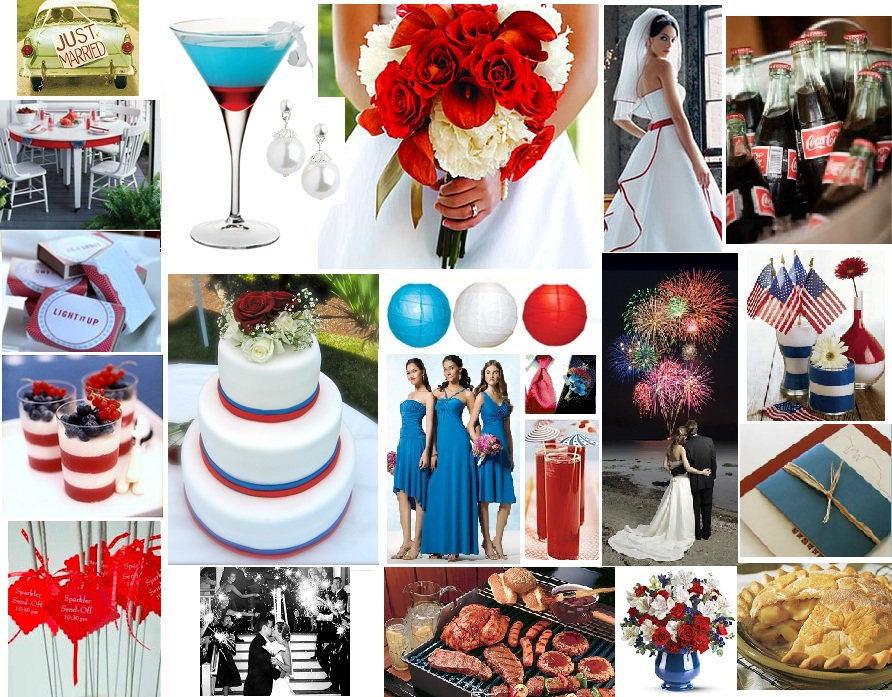 4th of July Weddings - 4th of July Wedding Ideas - The Knot
