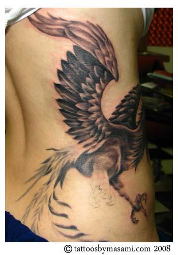 Phoenix Tattoos Design Pictures
