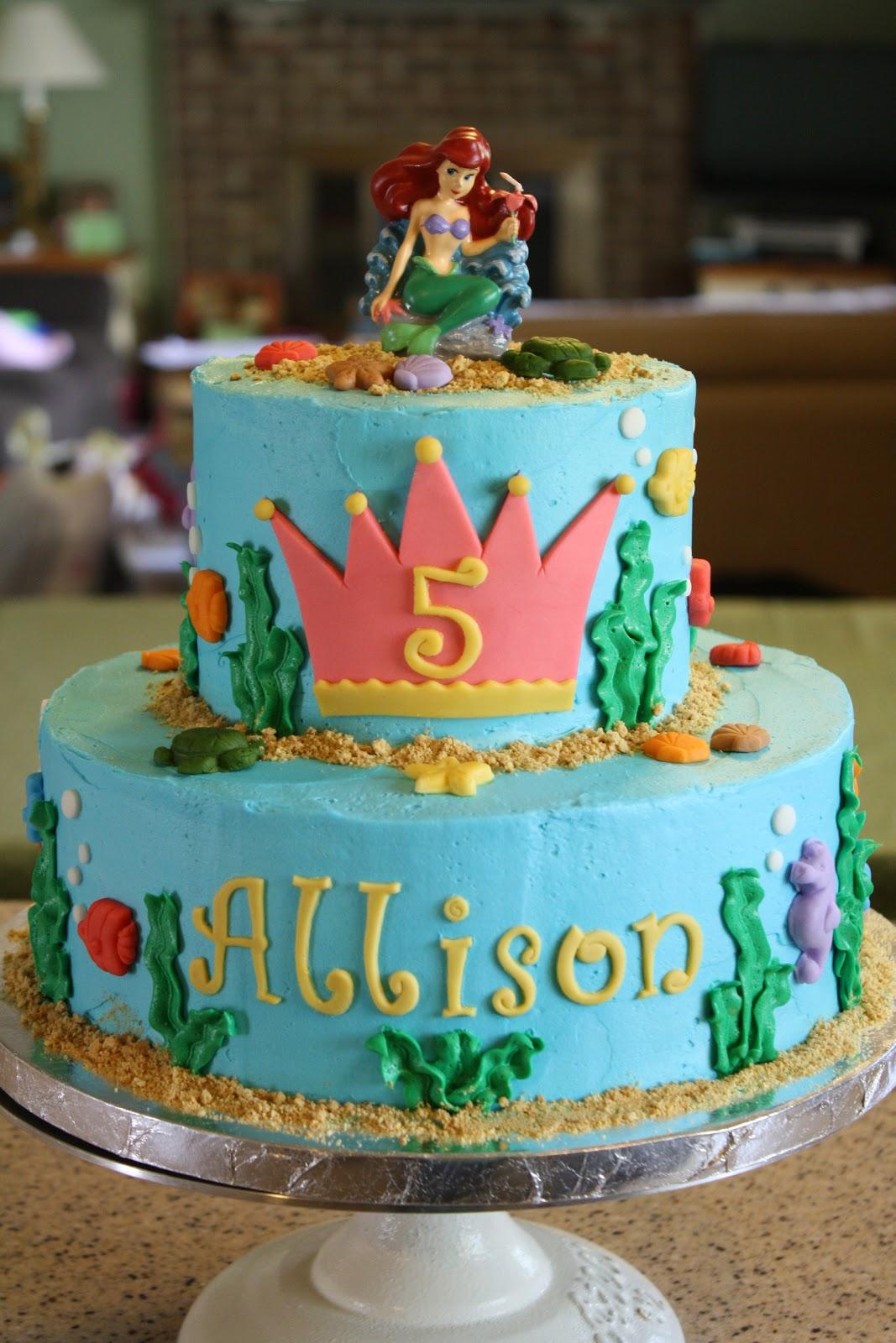 Dazzle Cakes Under The Sea Cake