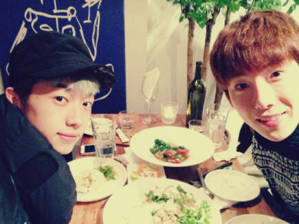 Wooyoung 2PM & Jo Kwon 2AM