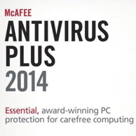 McAfee Antivirus Plus 2014 for Windows 8, 7