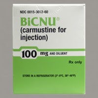 Label for BiCNU (Carmustine)