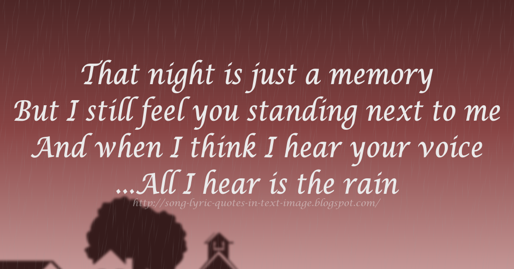 Lyric rain song lyrics : Song Lyric Quotes In Text Image: Rain - Alanis Morissette Song ...
