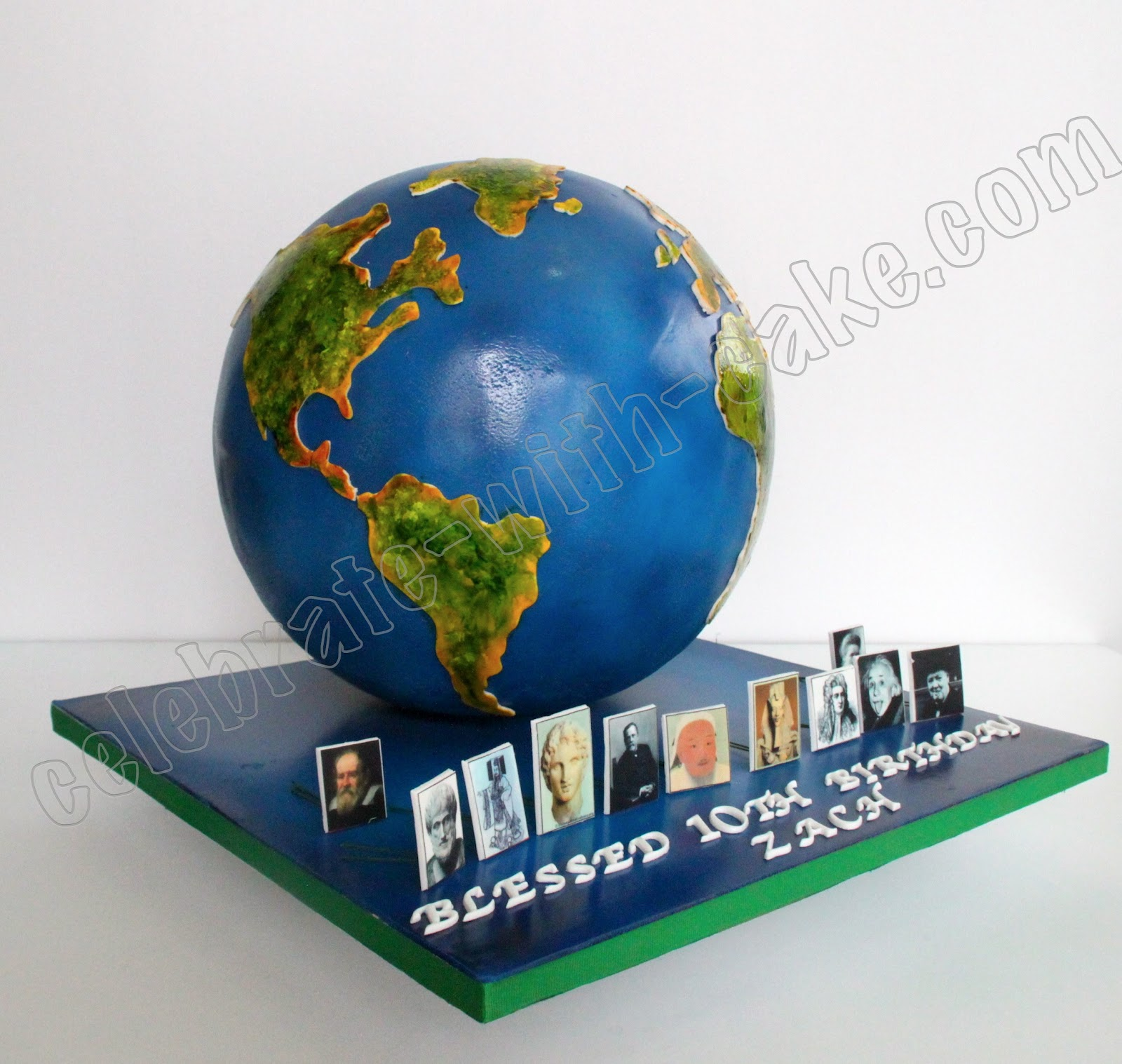 Earth To Table Birthday Cakes