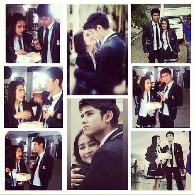 NurDyah berbagi: Foto foto Romantis Aliando dan Prilly Latuconsina