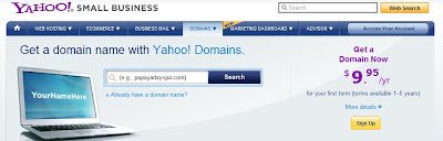 yahoo domains registrar