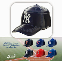 Take a closer look at Scentsy's new BASEBALL warmers!!!