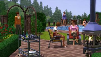 The Sims 3: Outdoor Living Stuff | www.wizyuloverz.com
