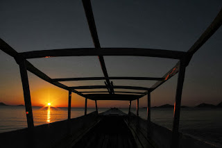 GAMBAR SUNSET TERBAIK Sungai Bengawan Solo