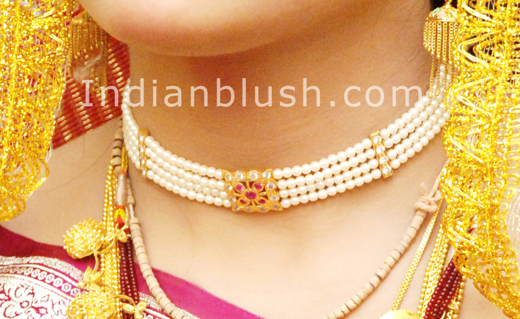 Indian Blush: Traditional Bengali Gold Wedding Jewellery - Part I