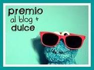 Premio al blog más dulce